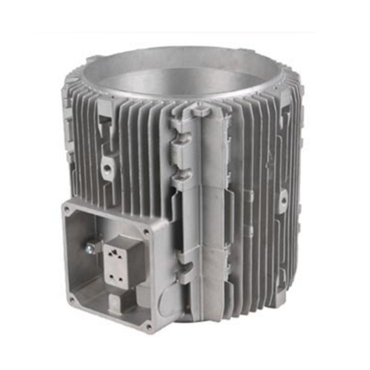 Aluminum Heatsink Casing Brushless DC Motor Housing