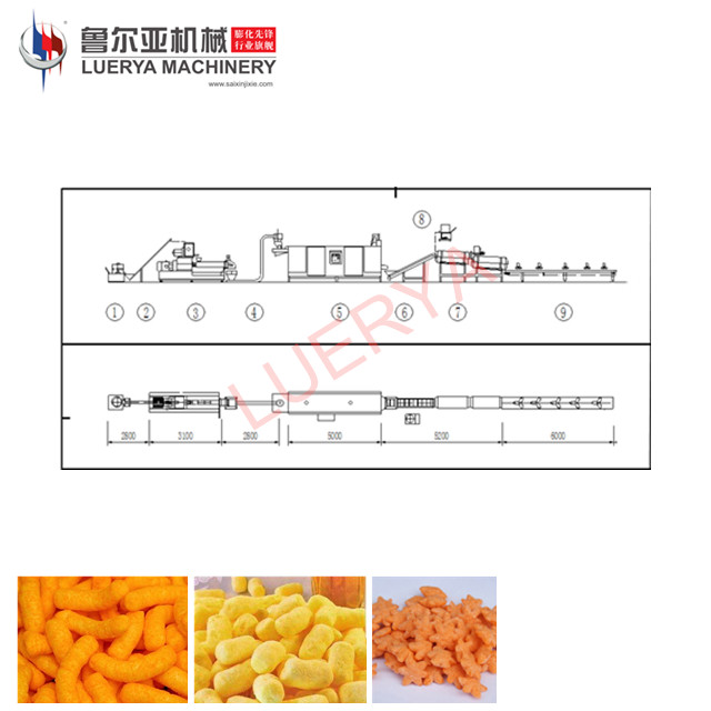 China leverancier rookwolken snacks maken machine