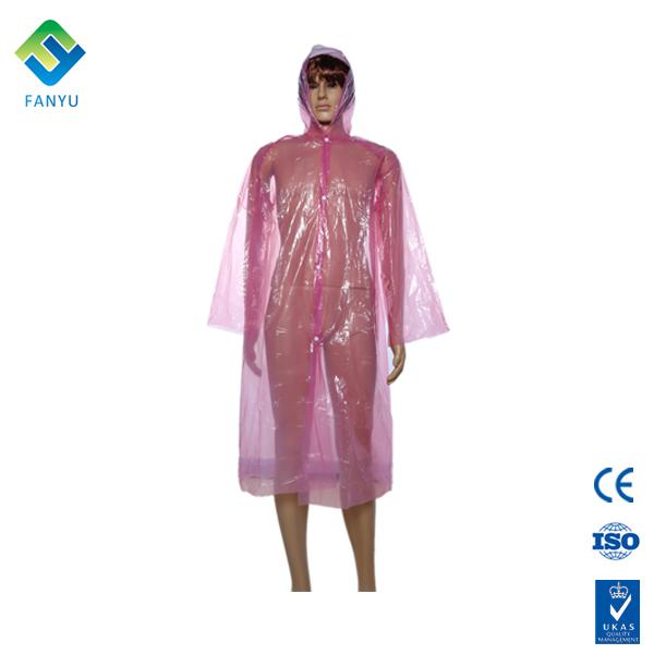 damen rosa damen in plastik regenm ntel regenmantel produkt id 60154714246. Black Bedroom Furniture Sets. Home Design Ideas