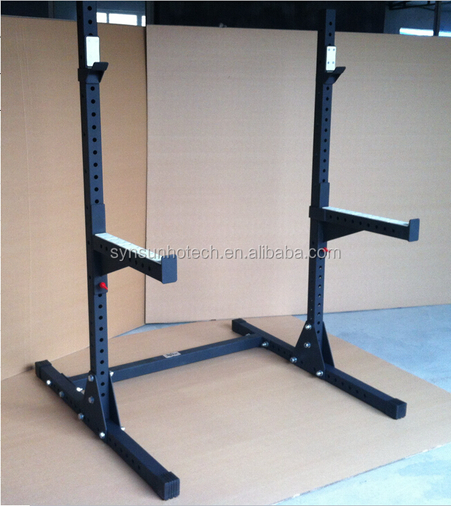 Gym Equipment Europe: Crossfit Heavy Duty Adjustable Squat Stand Rack