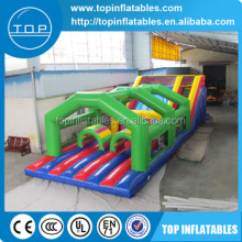TOP water games castle boot camp inflatable obstacle course for kids