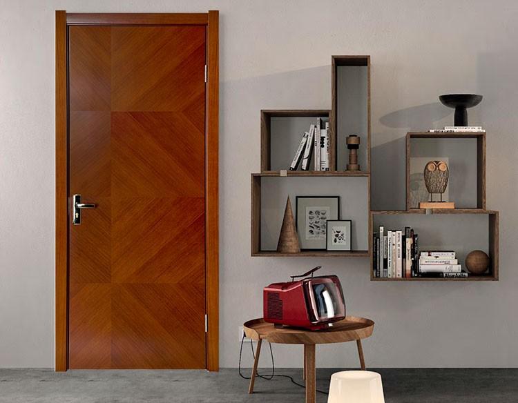 2016 new design plywood flush door price