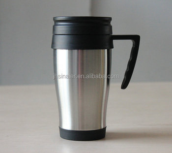 Black Lid Travel Mug With Handle 8oz Microwavable Mugs Insulated Product On Alibaba