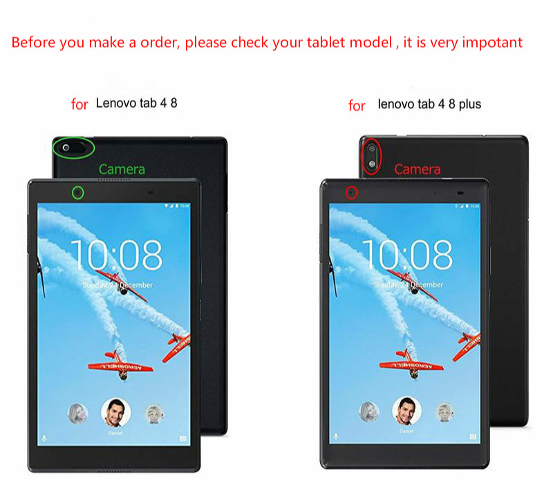 Tempered Glass For Lenovo Tab 4 8 Screen Protector For Lenovo Tab 4 8 0  TB-8504F TB-8504N 8504X Clear Tempered Glass Cover Guard