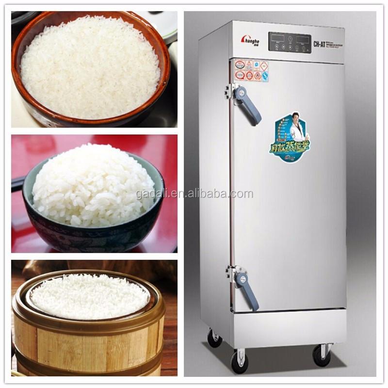 ... Kitchen cooking equipment gas rice steamer cabinet