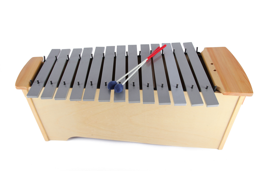 Wooden Metal Keys Xylophone Instrument,Percussion Musical ...