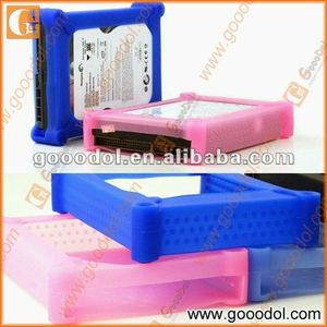 silicone case for 3.5'' HDD
