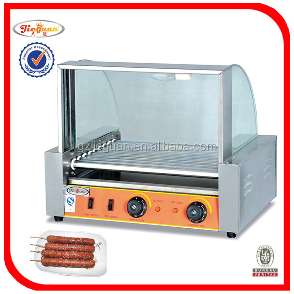 9 rollers hot dog grill/sausage grill roller/ hot dog grill roller EH-209