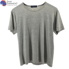 Cheap Price Comfortable silk screen printing cotton spandex O neck quick dry gray t shirt for Sport