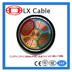 LX Electric Wire IEC Standard Cable Copper Core PVC/XLPE Insulated Power Cable
