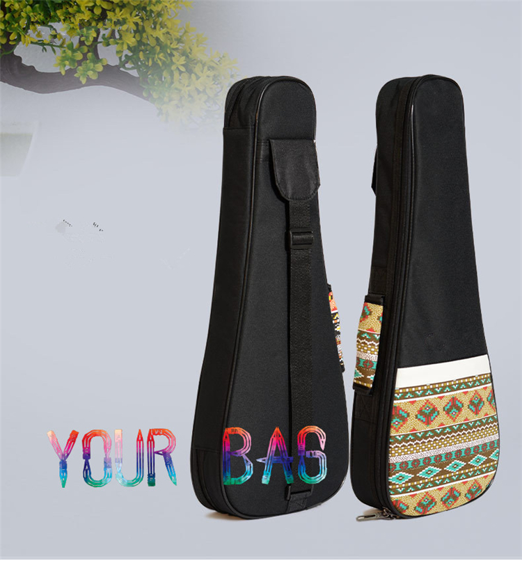 Enthusiast 23 inch Ethnic Style Canvas Ukulele Bag Gig Bag