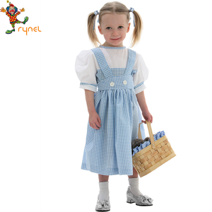 PGCC0539 Girl Dorothy costumes smart carnival costumes fancy cosplay costume