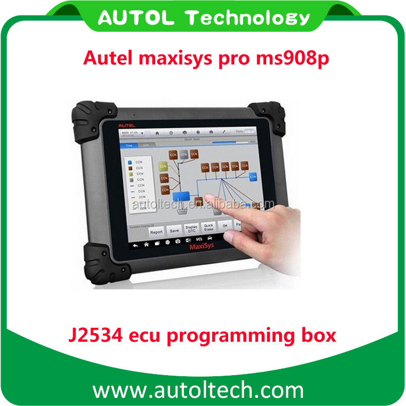 Best price autel maxisys pro ms908p free update online j2534 auto ecu programming tool for BMW/mercedes autel 908 pro