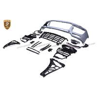TURBO style auto bumper body parts for Cayenne body kit front bumper main grille