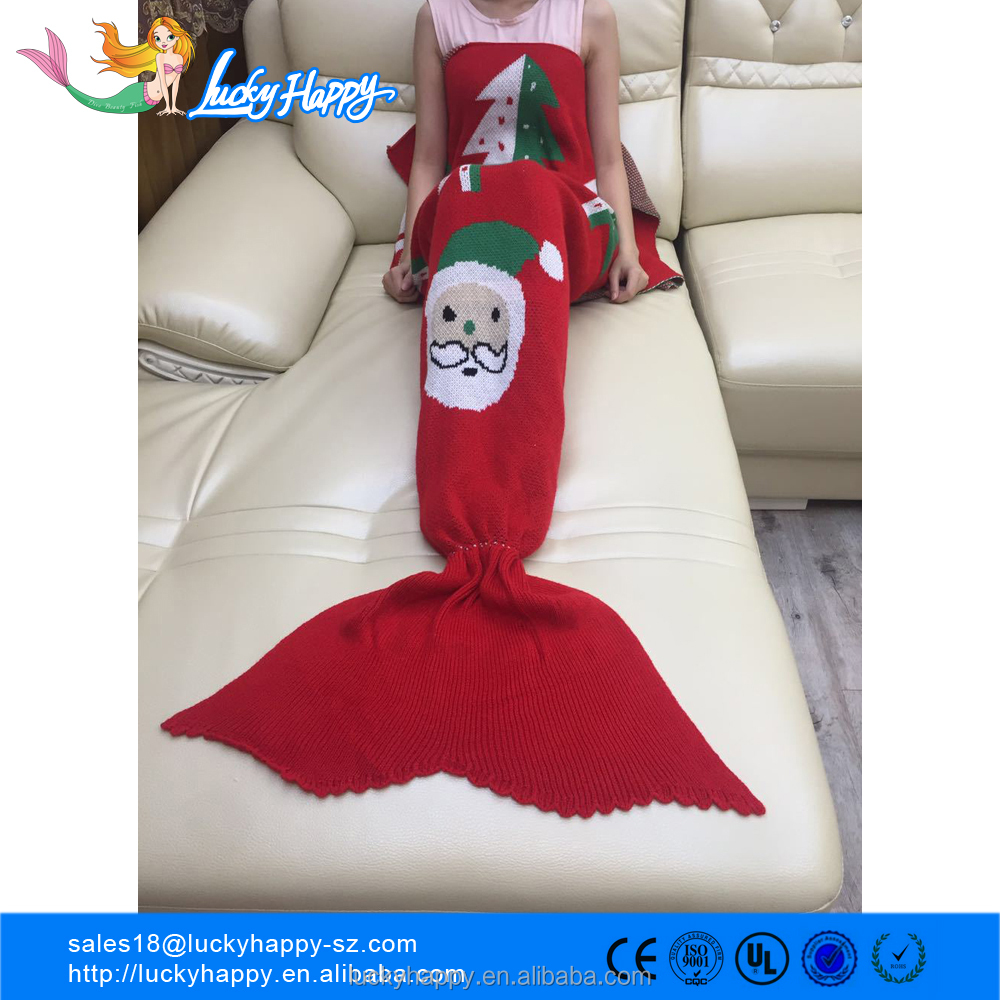 Christmas Gift Super Soft mermaid fleece tail blanketChristmas Gift Super Soft mermaid fleece tail blanke