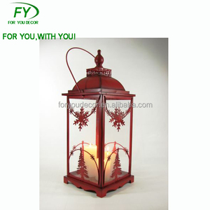 ML-267 Design Latest Classic Metal Candle Holder Christmas Lantern