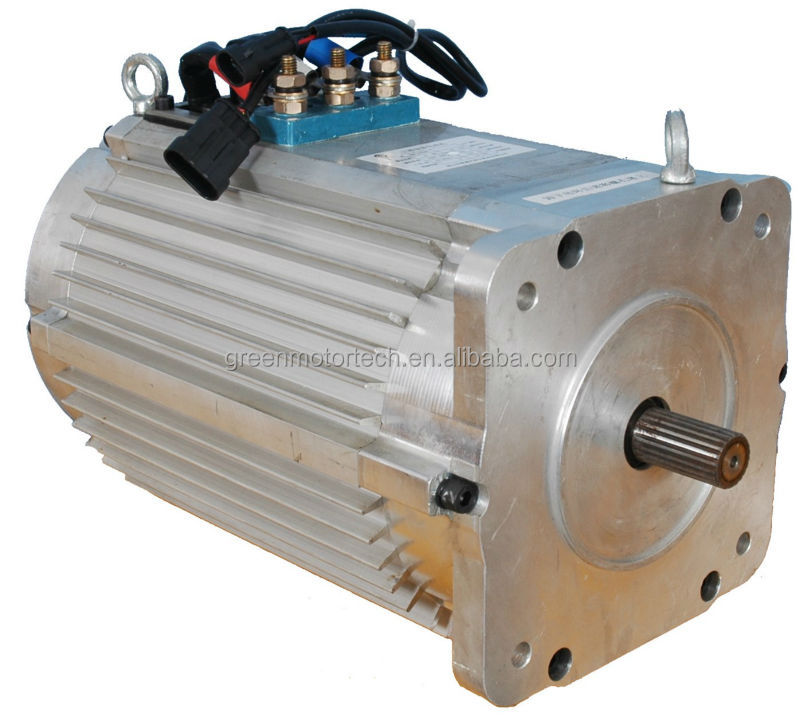 10kw brushless motor for electric car 96v with speed for Ac and dc motor