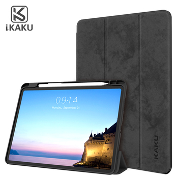 Easy taken portable promotional shockproof pencil holder accessories tablet cover case for ipad 9.7 pro 11 2018