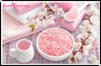 mineral ingredient and body use crystal bath salts for spa