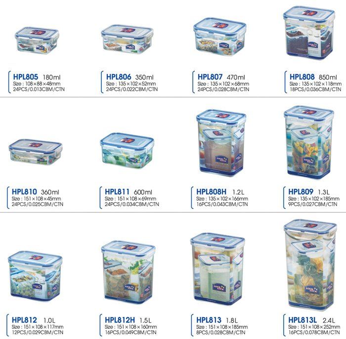 [kita] Lock U0026 Lock (classics) Food Storage Container   Buy Food Storage  Container Product On Alibaba.com