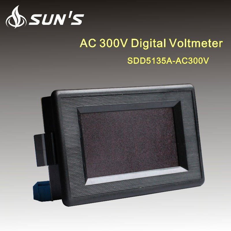 China alibaba AC0-300V automotive digital voltmeter