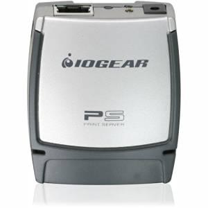 "Iogear Usb 2.0 Print Server . 1 X Usb . 1 X Network (Rj. 45) . Fast Ethernet . Desktop . 100 Mbps ""Product Type: Network & Communication/Print Servers"""