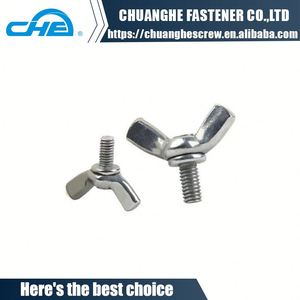 China supplier manufacture din315 wing nuts bolt screw