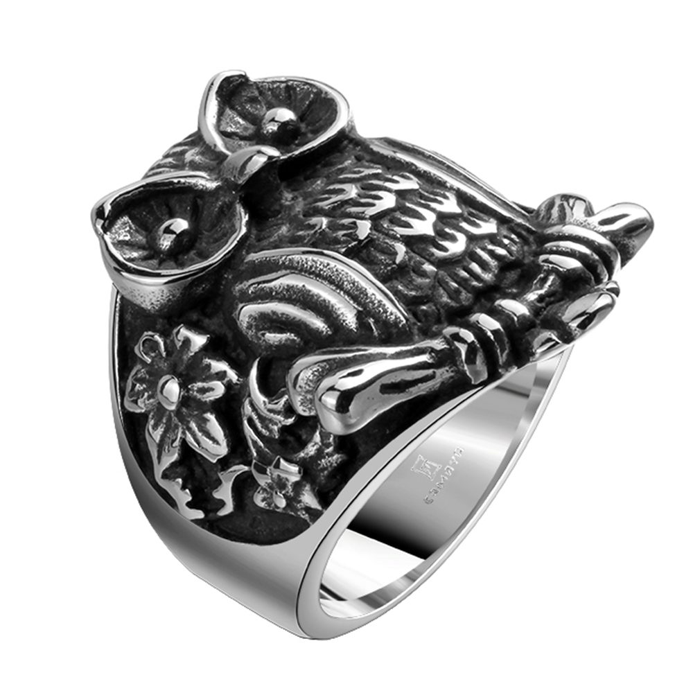Mens Owl Ring, Mens Owl Ring Suppliers And Manufacturers At Alibaba