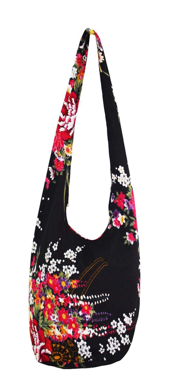 40786614b35a Get Quotations · Witery Women s Sling Crossbody Bags Large Shoulder  Shopping Hobo Bag Handbag Top Zip Bags Handmade Messenger