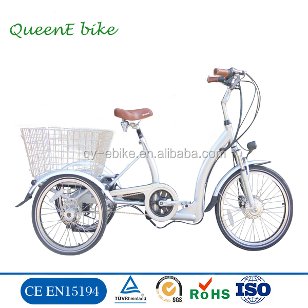Three wheels electric tricycle for passenger/motor tricycle/tricycle for elder