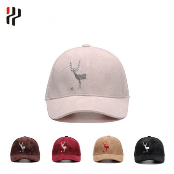 676cc2a8104 Hip-hop Style 6 panel snapback suede baseball short brim plain trucker cap  embroidered hat