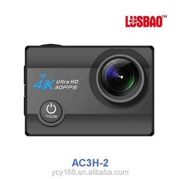Latest 4k 30fps Imx179 Sensor Sports Action Camera