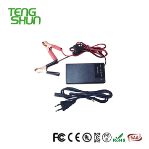 TengShun automatic 24V2A lead acid battery charger 24v for electric scooter / bike with XLR connector