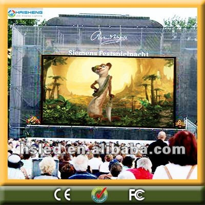 cultural square PH12.5mm outdoor led display screen