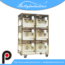 Stainless steel dry-feeding rabbit experimental rack