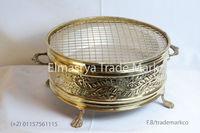 Handmade brass grill Arabic design GBE_102