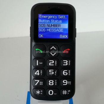 Mudah Digunakan Keypad Sos Handphone Keypad Besar Untuk Orang Tua