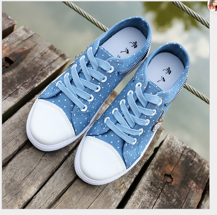 L10137A 2018 new spring and summer canvas trend wearing accessories national style all-match mesh women leisure shoes