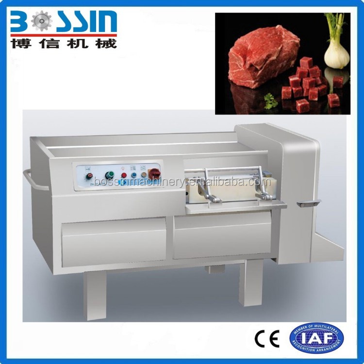 2016 Industrial electric fresh/ frozen chicken meat grinder/dicer/cube cutter