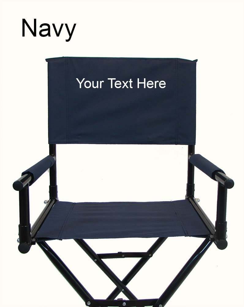 "PERSONALIZED EMBROIDERED 30"" Steel Director's Chair by Stadium Chair"