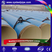 API 5CT GRAE J55 steel casing pipe 9 5/8'' n80 Oil and natural gas pipeline Application steel well casing pipe with 3lpe coat