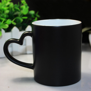 DIY logo Magic Color Changing Mug,custom your photo on Tea cup,unique Ceramic Coffee color changing Cup best gift for friends