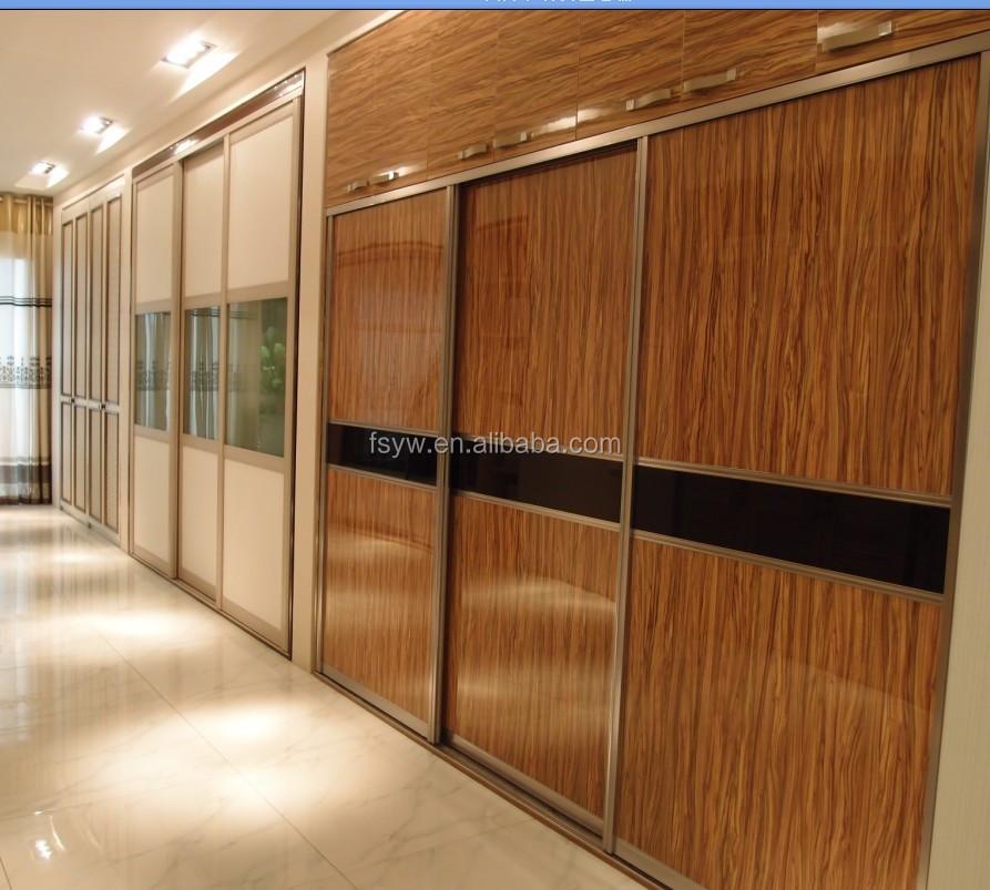 Correderas de aluminio puertas de closet puertas de cristal para ...