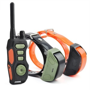 Remote Dog Shock Collar PET618 Waterproof & Rechargeable dog Training Collars with Beep Vibrating Electric Shock
