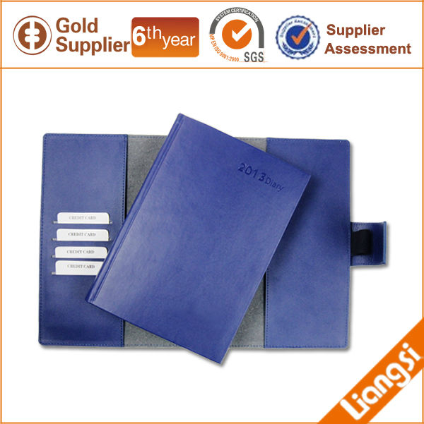 Leather folder file