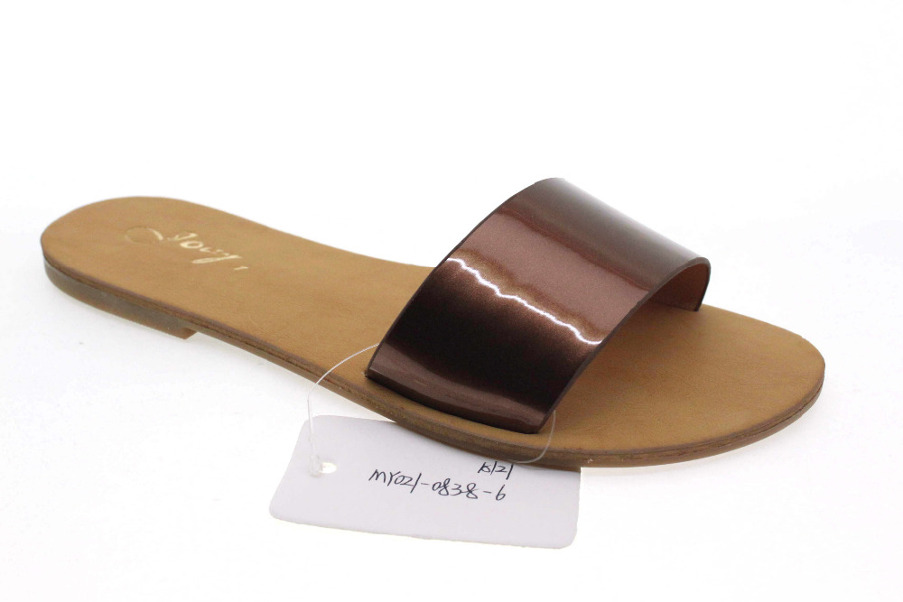 Alibaba Online Shopping Hot Sale Simple Style New Fashion Ladies <strong>Slippers</strong>