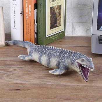 45CM Realistic Dinosaur Mosasaurus Animals Model Figure KidsToy or Festival-Gift