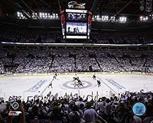 "MTS Centre Winnipeg Jets NHL Stadium Photo (Size: 20"" x 24"")"