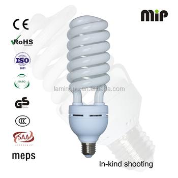 Half Spiral EMC T6 65W E27 6400K Compact Fluorescent Lamp