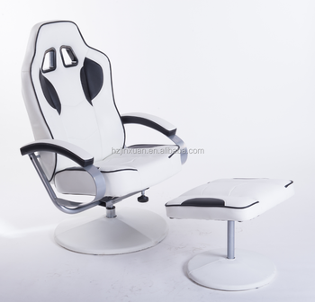 Strange French Style Living Home Office Use White Leather Longe Chair Indoor Lounge Chair With Ottoman Buy Lounge Chair With Ottoman White Leather Longe Evergreenethics Interior Chair Design Evergreenethicsorg